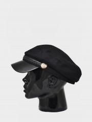 Елегантна зимна шапка Шапка с декорация