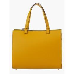 Ellegant Leather Bag 6217YEL