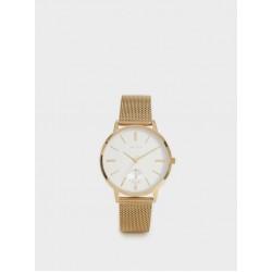 Watch With Metallic Mesh Wristband 151812_GDU