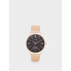 Watch With Metallic Mesh Wristband 151812_RGU