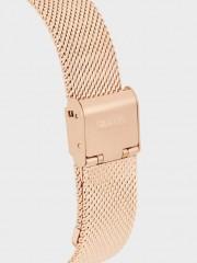 Watch With Metallic Mesh Wristband Часовник със сребриста метална каишка