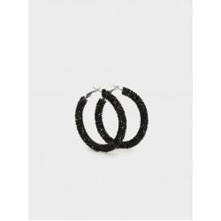 Large Rhinestone Hoop Earrings 161323_BKU