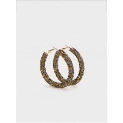 Large Rhinestone Hoop Earrings 161323_GDU