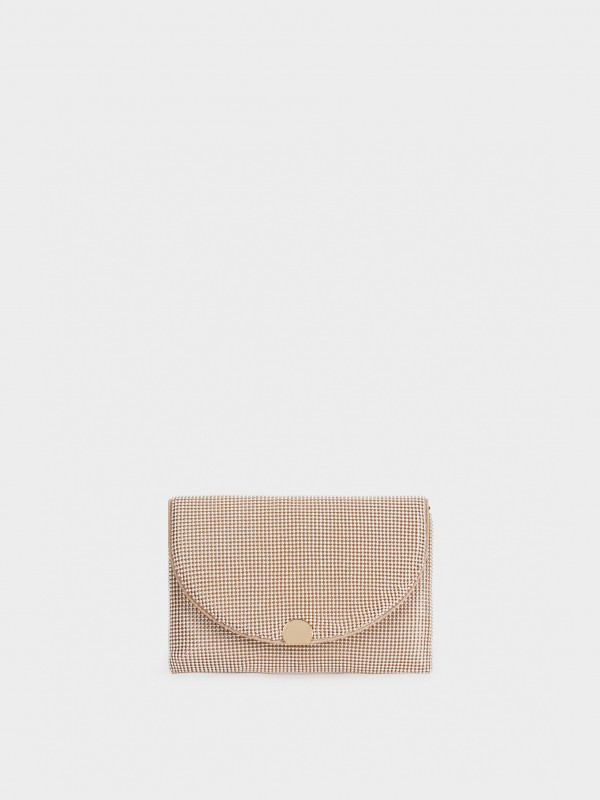 Mesh Party Clutch