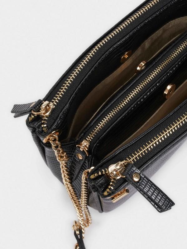 Acua Animal Embossed Crossbody Bag