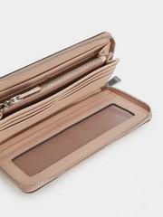 Basic Wallet Голям дамски портфейл