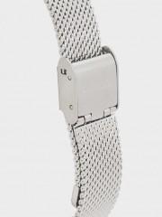 Watch With Narrow Metallic Mesh Strap Елегантен малък часовник с метална каишка