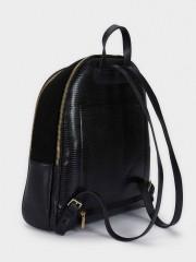 City Backpack Черна раница за документи и лаптоп