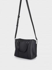 Revive3 Tote Bag Черна чанта с дълга дръжка