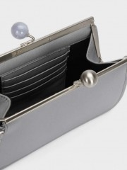 Mika Multi-Use Purse Елегантен портфейл/чанта в сиво
