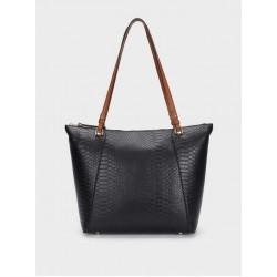 Snakey Shopper Bag 181949_BKL