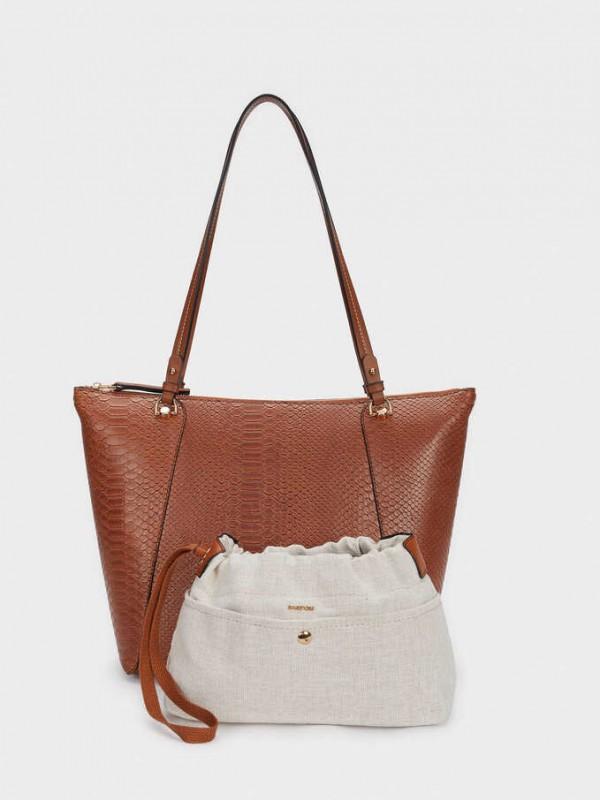 Snakey Shopper Bag