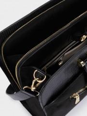 Charms Laptop Bag Черна чанта за документи/лаптоп