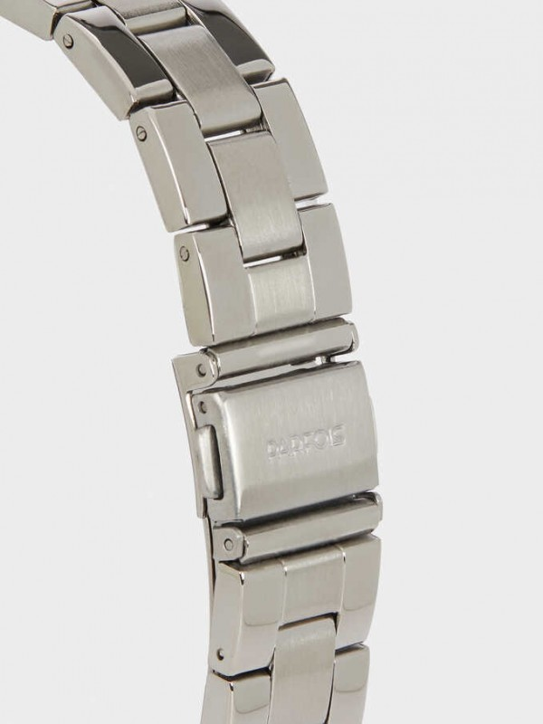 Steel Strap Watch With Brilliant Dial