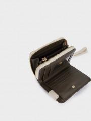 Nicole Small Wallet Компактен портфейл с флорални мотиви