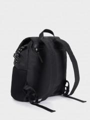 Claire Backpack Черна текстилна раница