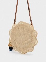 Iggy Crossbody  Bag Плетена лятна чанта