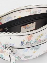 Clay Crossbody Bag Малка чанта с дълга дръжка и флорални мотиви