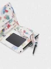 Clay Small Wallet Малък портфейл с флорален принт