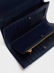 Iggy Wallet Голям портфейл с флорален принт