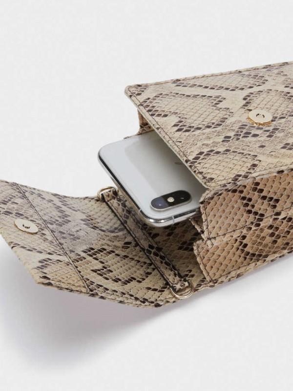 Embossed Animal Print Phone Case