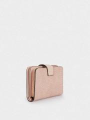 Samira Small Wallet Компактен портфейл в нежно розов цвят