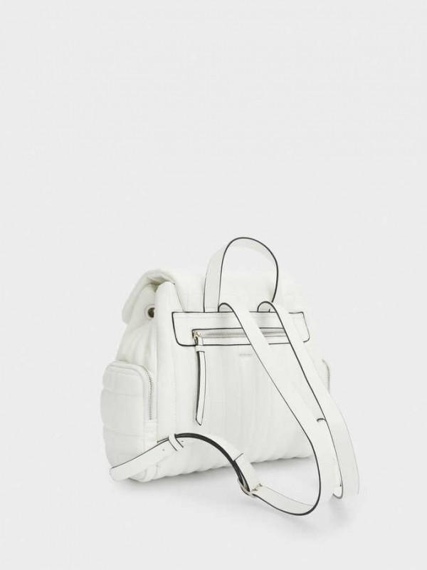 Lane White Backpack