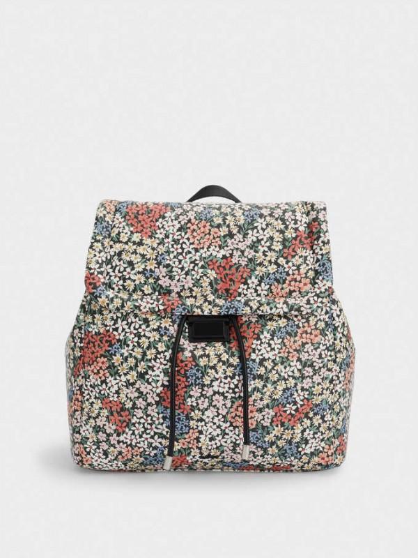 Lane Print Backpack