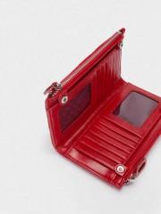 Aurora Red Wallet Червен дамски портфейл