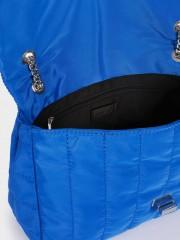 Chuck Small Crossbody Bag Малка текстилна чанта в електриково синьо