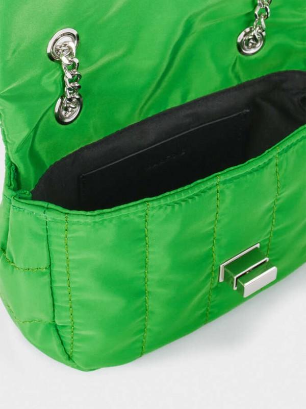 Mini Quilted Nylon Crossbody Bag