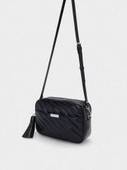 Daniel Crossbody Bag Черна чанта с дръжка за през рамо