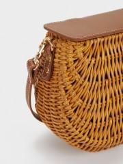 Straw Crossbody Bag