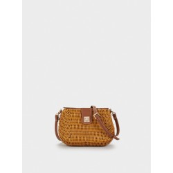 Straw Crossbody Bag 175185_CAM