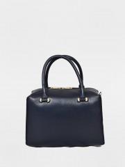 Amy Leather Bag Кожена чанта в тъмно синьо