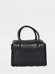 Amy Leather Bag Черна кожена чанта