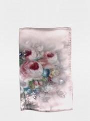 Копринен шал флорален
