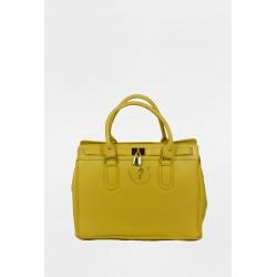 Stella Leather Handbag 5185YEL