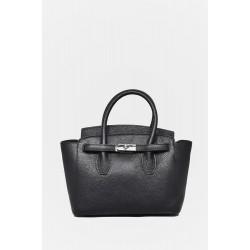 Leather Handbag FB700BL