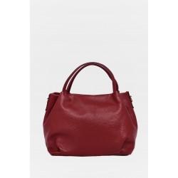 Tanya Leather Handbag H104BORDO