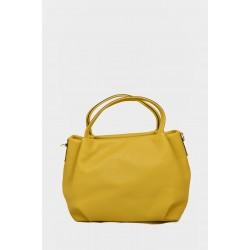 Tanya Leather Handbag H104YEL