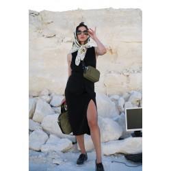Nylon Crossbody Bag 175203_KKM